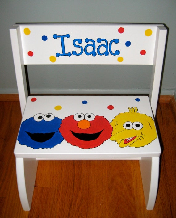 Children's Character Theme Personalized Step stool