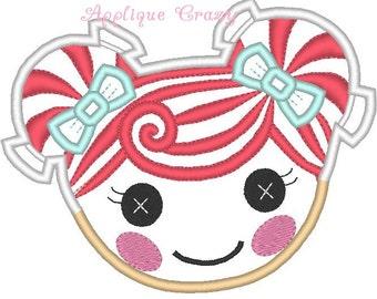 Doll Face Applique design