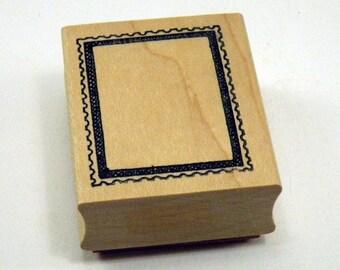 Postage Frame / Postoid / Rubber Stamp