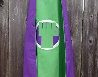 Hulk Cape - Handmade and Reversible