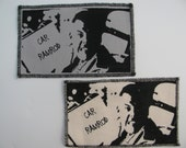 One super troopers canvas patch in any color you choose....FREE SHIPPING USA