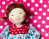 """RESERVED FOR KIMBERLY - Waldorf doll - Waldorf inspired doll - Poetry Girl 14"""" - 'Sophie'"""