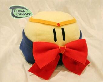 Large Sailor Moon cosplaying Basic Dango Plush - Plushie - Stuffed Animal Handmade Fiber or Fiber and microbead mix