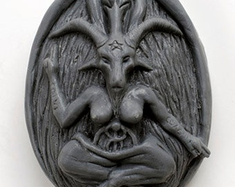 Bubble Baphomet Sinful Soap (choose fragrance: Pumpkin Pie, lavender lemongrass, and more)