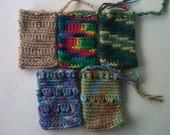 Soap Buddies crochet soap saver pouch, cell phone case, wristlet purse