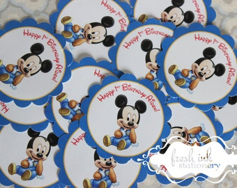 Baby Mickey Mouse Stickers