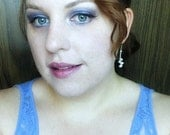 Sacrifice Eyeshadow- Silver-Grey Toned Medium Purple w/ Silver Shimmer
