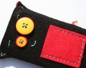 Happy Black iPhone Cozy