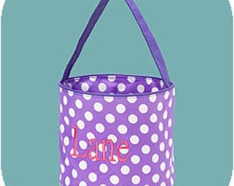Monogrammed Toy/Easter basket