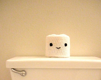 Cute Crocheted Toilet Paper Cover