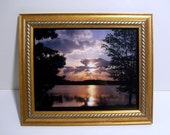 "Photo  Frame (Wood). (10 1/4"" x 12 1/4 "" with 8""x 10"" inch opening)"
