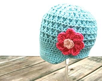 baby crochet newsboy hat