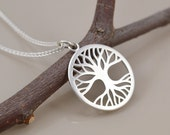 Tree of Life Pendant - Sterling Silver - Saw Pierced