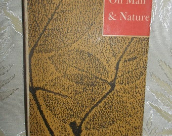 "Vintage book ""Thoreau on Man and Nature"""