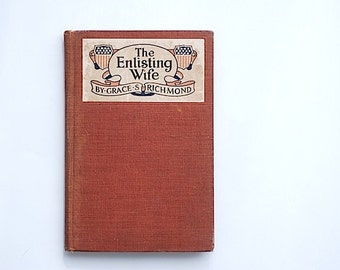 Hardcover Children's Book The Enlisting Wife, Gift For Son Daughter,