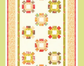 Honeysweet - Table Runner or Wall Hanging Pattern - Fig Tree & Co