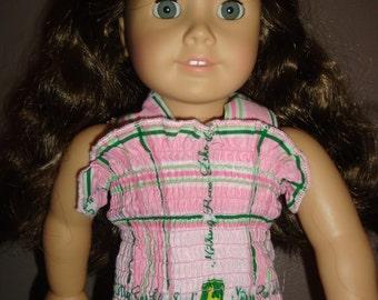 "John Deere Doll Dress (18"" dolls)"