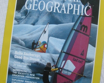 National Geographic March 1988:  Anchorage, Falkland Islands, early Florida
