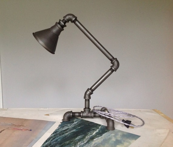 Custom Industrial Desk Lamp