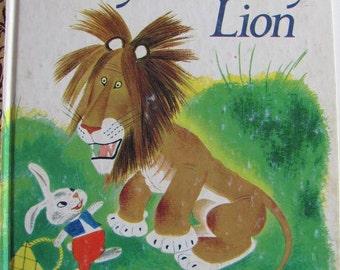 Tawny Scrawny Lion -  Classic Vintage Little Golden Book - 1975 edition