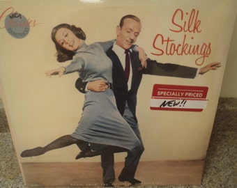 LP Record, Soundtrack Silk Stockings MCA Classics New and Sealed vinyl album Fred Astaire