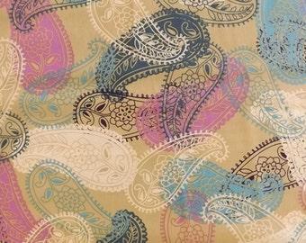 Gipsy Glitter by Pat Bravo - Bamboo Paisleys (GG-7524) - 1 yard