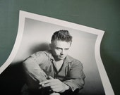 Vintage James Dean Poster by roy schatt poster