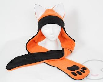Fox Scarf Hat