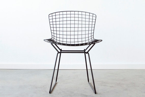 geometric shaped chair