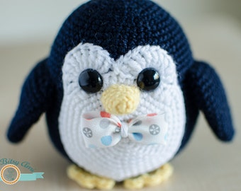 Oby, The Penguin - PDF Amigurumi Pattern