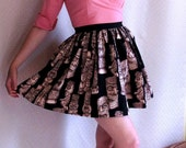 Custom Listing for Ashleigh Snow - Tiki Print Gathered Skirt