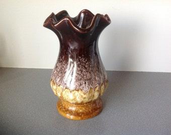 Vintage West Germany Bay ceramic vase