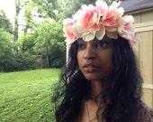 Sale-Women's Headband - Flower Crown - Floral Crown- Accessories - Springs Fashion- Royal Fashion