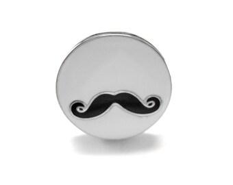 Circular Mustache Ring