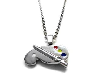 Art Palette Necklace