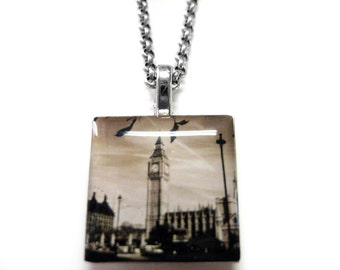 Big Ben Pendant Necklace
