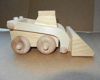 Bobcat, Handmade Bobcat, Made in USA, Wood Bobcat, Original Design, Construction Equipment, Wood Toy
