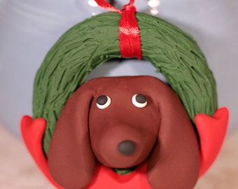 Dachshund Wiener Dog Ornament