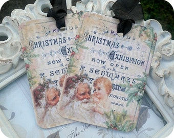 Christmas Exhibition Tags - Set of 6