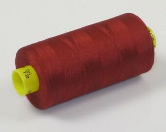 Sewing Thread, Brick Red 12 Gutermann Superior Sewing Thread on 1094 Yard Spool