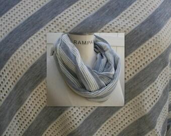 Grey Infinity Scarf Lightweight  Scarf Summer Scarves Scarveschic Teacher Gifts Winter Scarf  - By PIYOYO