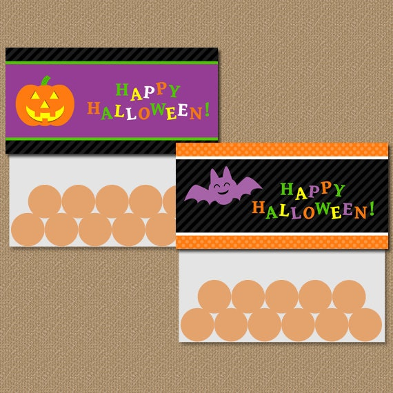 Treat Bag Toppers - DIY Printable Bag Toppers - Halloween Party ...