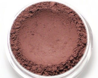 "Matte Eyeshadow - ""Tryst"" - Burgundy Mineral Eyeshadow Net Wt 2g (Vegan) Natural Mineral Makeup Eye Color Pigment"