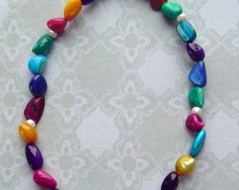 "8"" Freshwater Pearls Bracelet"