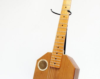 Electric Jewlry Box, Acoustic Guitar Handmade Recycled (Cigar Box)