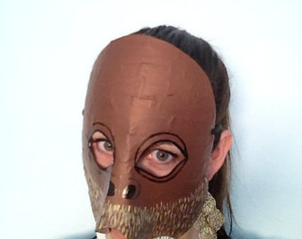 Walrus mask, walrus costume