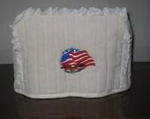 Nancy Special Ofder 2 Slice Toaster Cover Eagle/US Flag Design