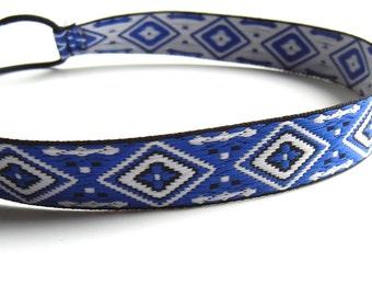 Blue Aztec Headband