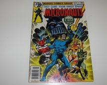 The Micronauts No.1 (1978)