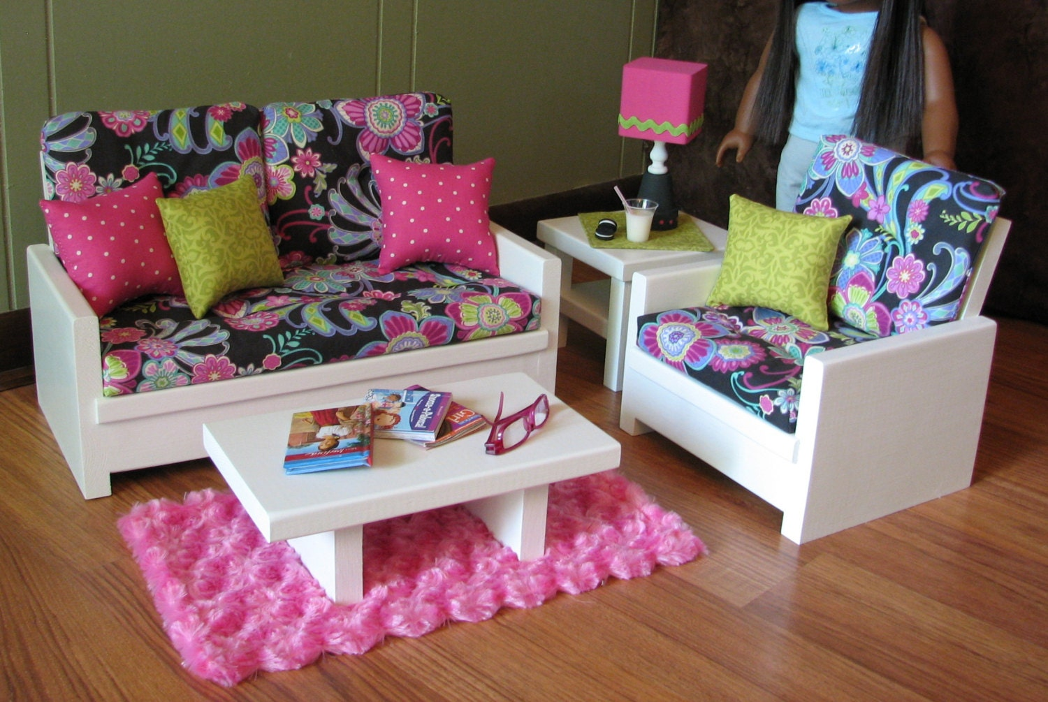 Living Room Furniture For American Girl Dolls